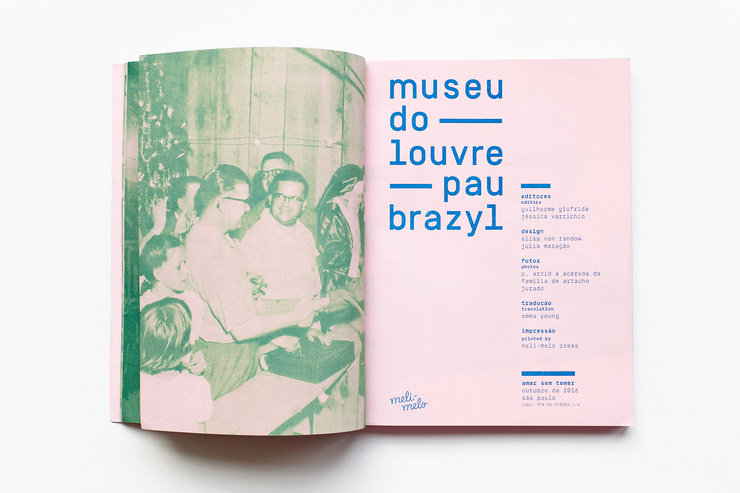 Photographs for the museu do louvre pau-brazyl exhibition catalogue, 2016